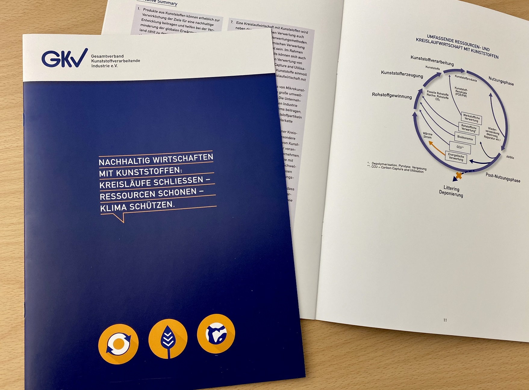 GKV: Position paper on the circular economy