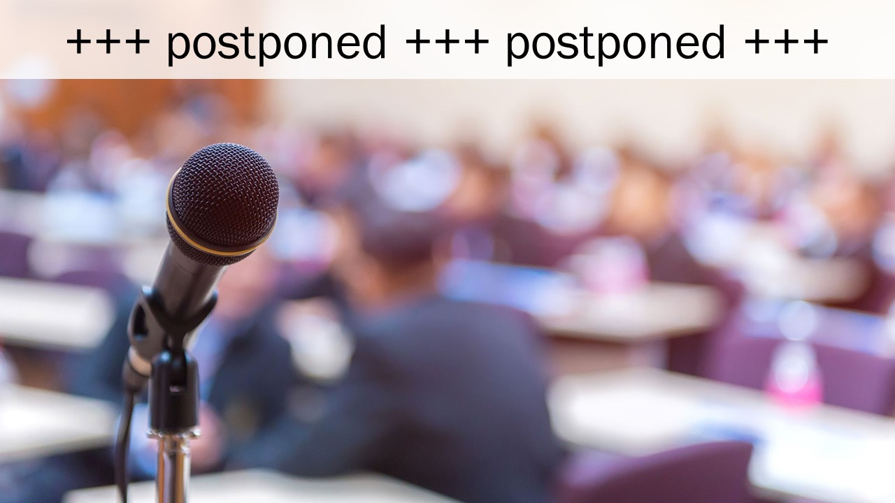 PREVENT General Assembly is postponed