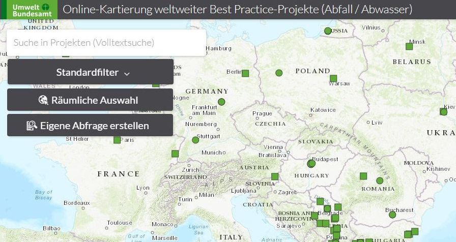 Relaunch of the UBA platform for online mapping of global best practice projects