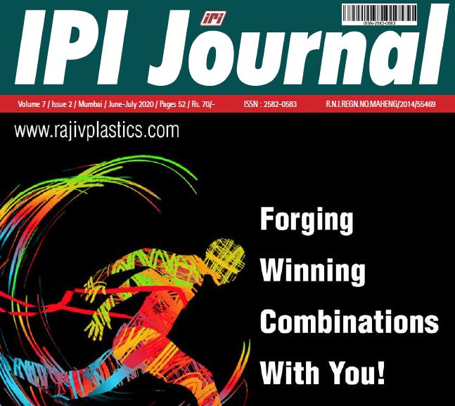 IPI Journal Special Issue on Sustainability & Recycling of Plastics