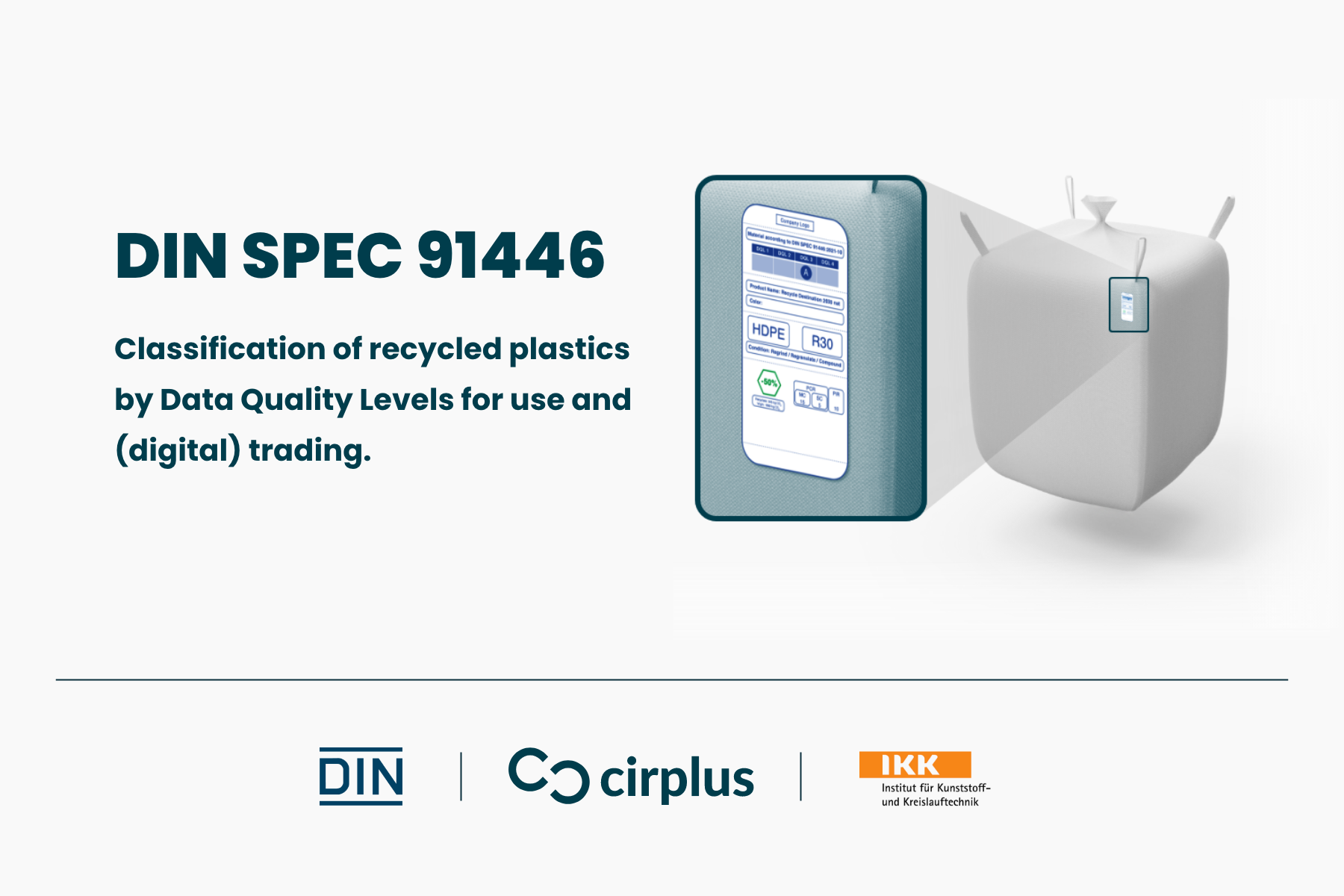 Introducing DIN SPEC 91664 on recyclates classification – Now open for commenting!