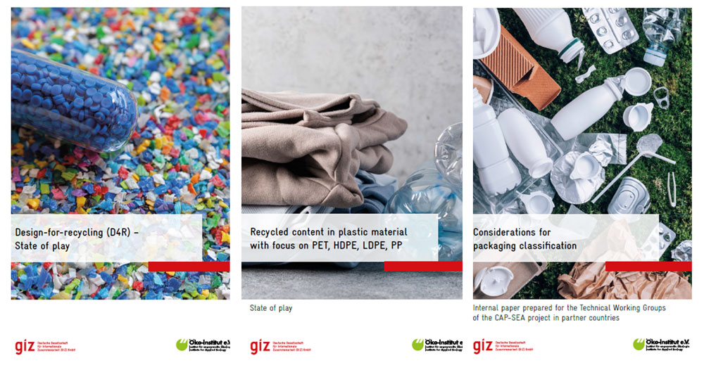 New publications on the prevention of single-use plastic (SUP) and reusable packaging systems by the CAP-SEA project