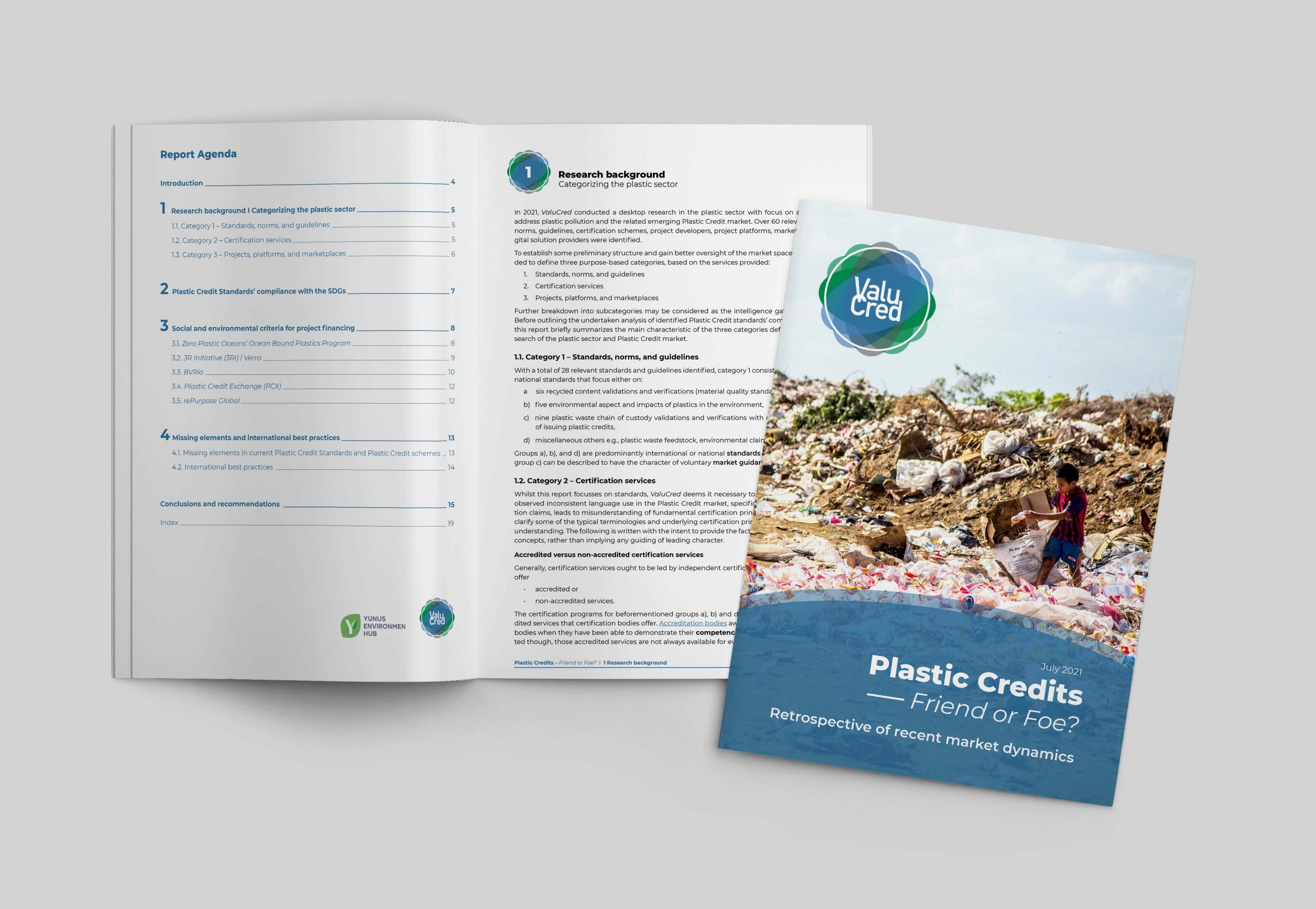 ValuCred report on Plastic Credits published